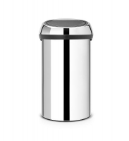 Kosz TOUCH BIN 60L Brilliant Steel