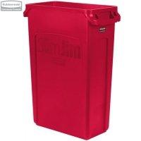 Kosz Slim Jim® With Venting 87L Red