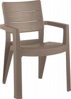 Krzesło ogrodowe IBIZA cappucino