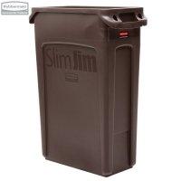 Kosz Slim Jim® With Venting 87L Brown