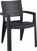 Krzesło ogrodowe IBIZA antracyt