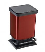 Kosz na śmieci PASO 20L czerwony