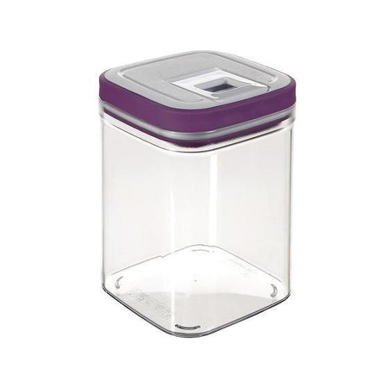 Pojemnik na produkty sypkie GRAND CHEF CUBE 1,3L fiolet