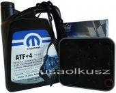 Olej MOPAR ATF+4 oraz filtr automatycznej skrzyni 4SPD Chrysler Neon