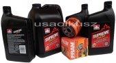 Olej 5W30 oraz filtr oleju silnika GMC Yukon 2007-