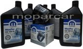 Filtr oraz olej MOPAR 10W30 Dodge Spirit