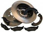 Tylne tarcze klocki szczęki Chrysler Sebring 4 dor