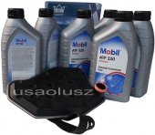 Filtr oraz olej skrzyni biegów Mobil ATF320 Ford Expedition -2006