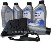 Filtr oraz olej skrzyni 4SPD Mobil ATF320 Plymouth Voyager