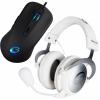 !!!! Mysz QPAD DX-5 Gratis !!! QPAD QH-90 białe eSPORT Hi-Fi Pro Gaming