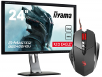 IIYAMA G-MASTER RED EAGLE GB2488HSU-B3 24 1ms 144Hz FreeSync + MYSZKA V7m
