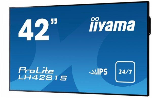 Monitor IIYAMA 42 LH4281S-B1 IPS FullHD DAISY CHAIN Support, USB Media Player, OPS, 24/7
