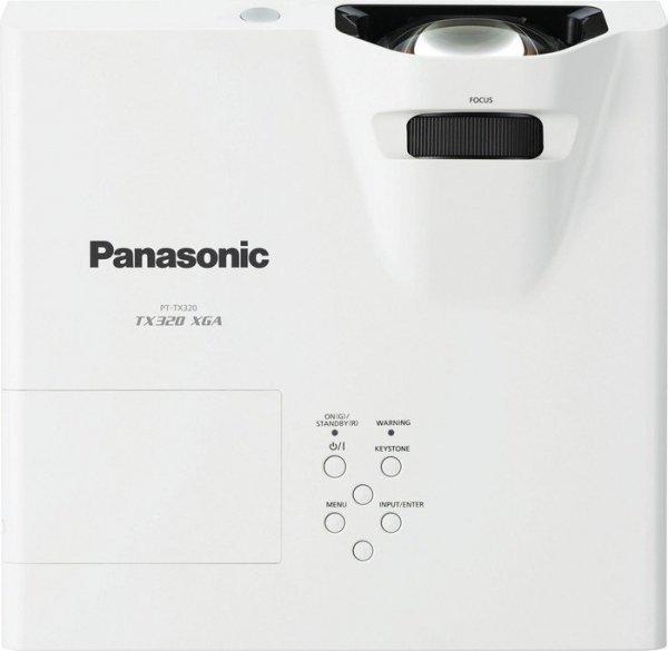 Projektor Panasonic PT-TX320 XGA LCD HDMI 3200AL USB Short Throw