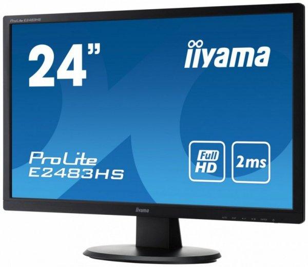 IIYAMA 24'' E2483HS-B1 FulHD LED HDMI