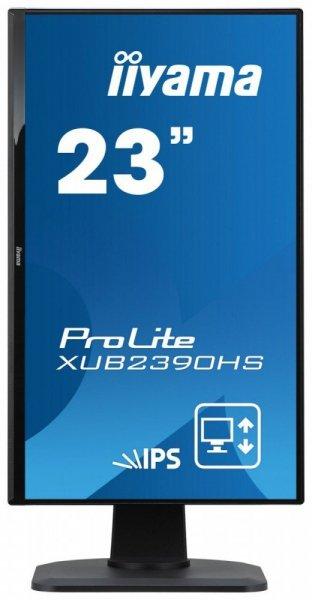"""IIYAMA 23"""" XUB2390HS-B1 IPS PIVOT Głośniki GRATISY"""