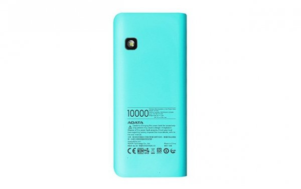 Adata PowerBank PT100 10000mAh 3.1A Niebieski/Różowy