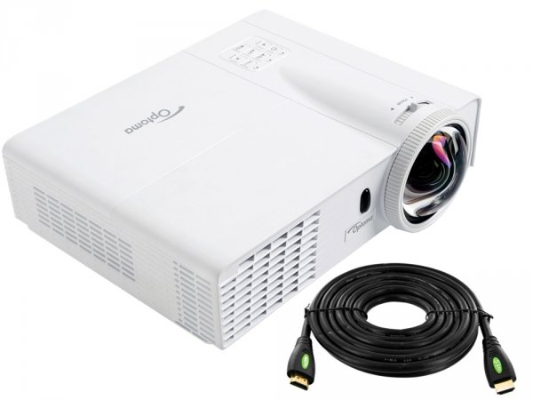 ---- GRATIS HDMI 10m ----  Projektor OPTOMA GT760 DLP HD Ready 3D 720p 20000:1 Short Throw