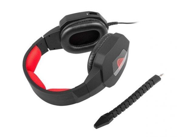 GENESIS H59 Multiplatformowe słuchawki dla graczy
