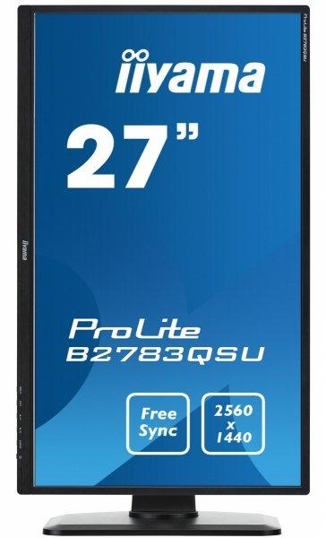 "IIYAMA B2783QSU-B1 27"" QHD 2560x1440 1ms DP FreeSync Gaming"