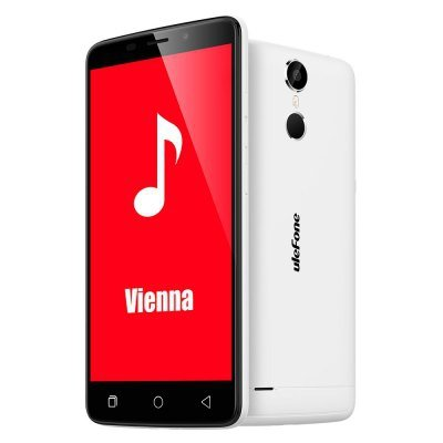 """Smartfon Ulefone Vienna 32GB LTE FHD 5.5"""" (biały) POLSKA DYSTRYBUCJA Zestaw etui+szkło"""