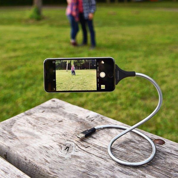 Fuse Chicken Bobine - stalowy kabel Lightning z funkcją stacji dokującej, statywu (60cm)