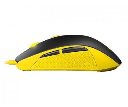 Mysz SteelSeries 100 Proton Yellow