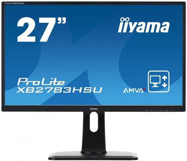 "IIYAMA 27"" XB2783HSU AMVA+ 4ms FHD PIVOT GRATISY"