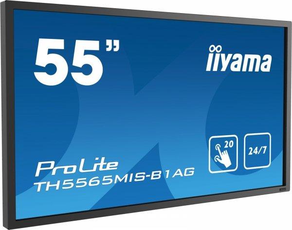 Monitor IIYAMA 55 TH5565MIS-B1AG IPS multi-touch DAISY CHAIN Support 24/7