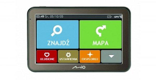 MIO Spirit 8500 Nawigacja samochodowa Mapy Europa (dożywotnia aktualizacja)