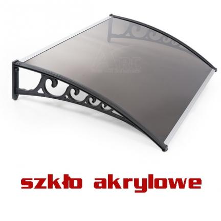 120x100 SZKLANY Daszek markiza