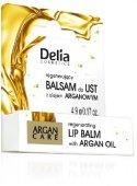 Delia Cosmetics Balsam do ust Argan Care regenerujacy 4.9g