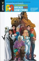 A AND A ADVENTURES OF ARCHER AND ARMSTRONG VOL 03 ANDROMEDA ESTRANGED SC