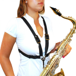 Szelki do saksofonu BG S41SH damskie