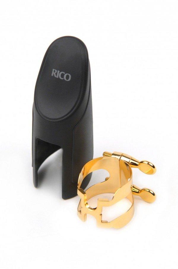 Ligaturka do saksofonu tenorowego Rico H pozłacana