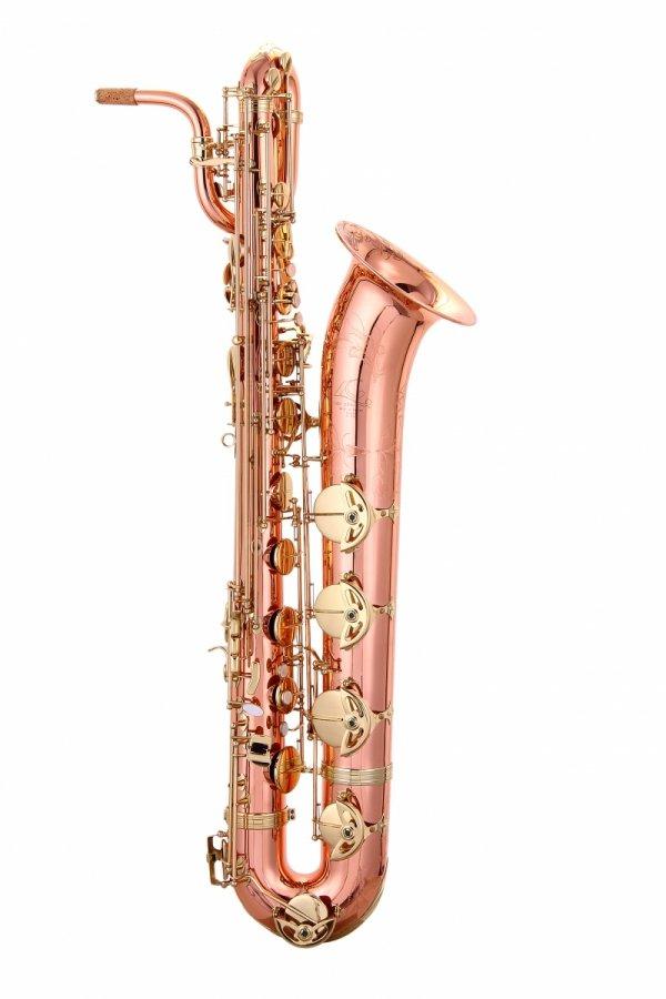 Saksofon barytonowy LC Saxophone B-603CL clear lacquer