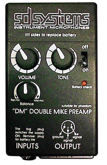 Mikrofony do klarnetu basowego SD Systems LCM 82 B