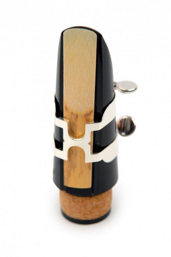 Ligaturka do klarnetu B/A Rico H posrebrzana