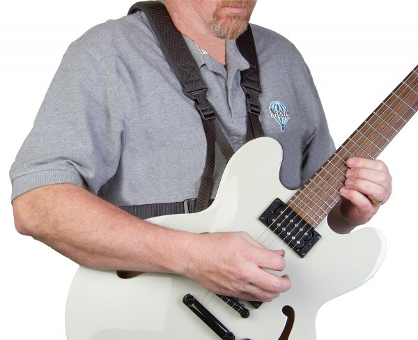 Szelki do gitary elektrycznej i basowej Neotech Guitar Support