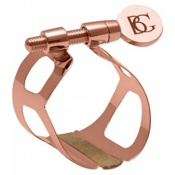 "Ligaturka do klarnetu B/A BG Tradition L39 lakierowana ""rose gold"""
