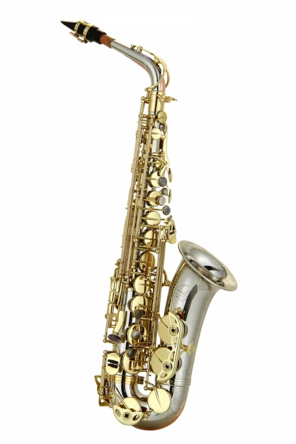 Saksofon altowy LC Saxophone A-704CL clear lacquer