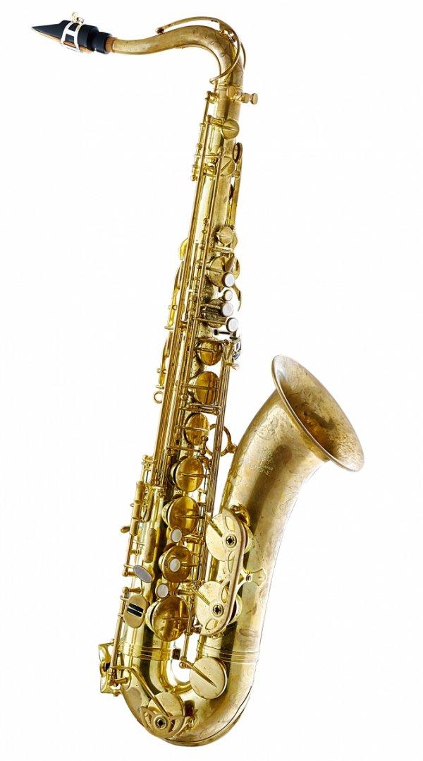 Saksofon tenorowy Forestone bez lakieru, zdobiony, rolled tone holes