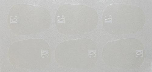 Naklejki na ustnik BG A12L (0.9 mm, duże)
