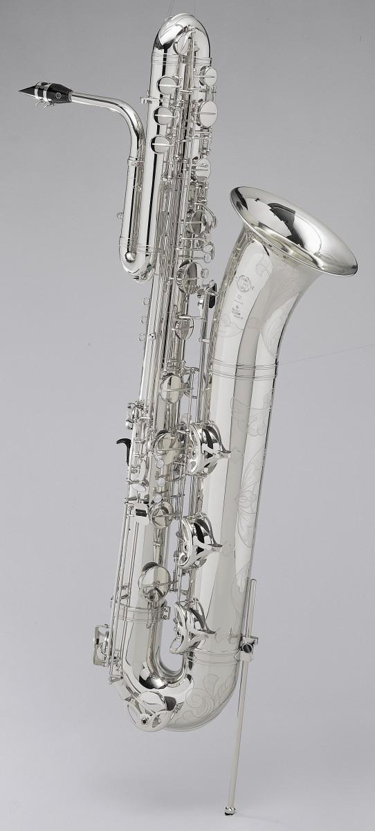 Saksofon basowy Henri Selmer Paris Super Action 80/Serie II AG silver plated