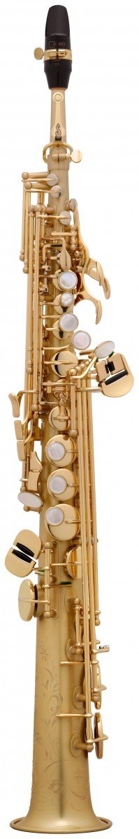 Saksofon sopranowy Henri Selmer Paris Super Action 80/Serie II BGG GO brushed gold lacquer