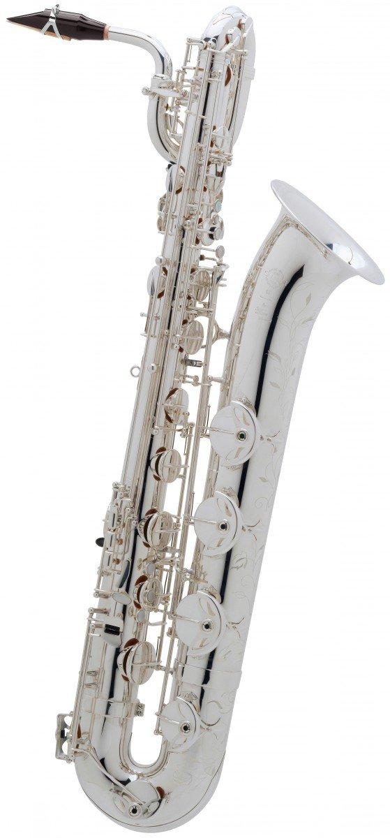Saksofon barytonowy Henri Selmer Paris Super Action 80/Serie II AG silver plated