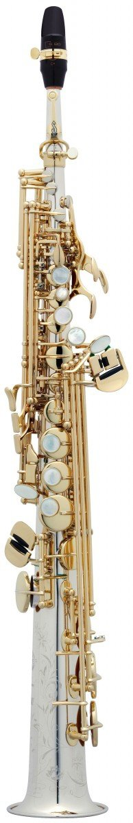 Saksofon sopranowy Henri Selmer Paris Serie III AMG VO sterling silver, klapy lakierowane