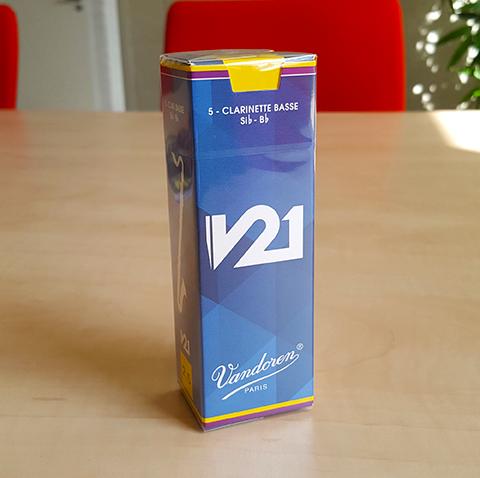 Stroiki do klarnetu basowego Vandoren V21