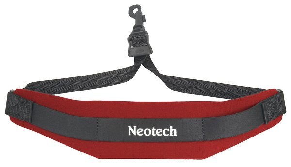 Pasek do saksofonu Neotech Soft Red Regular