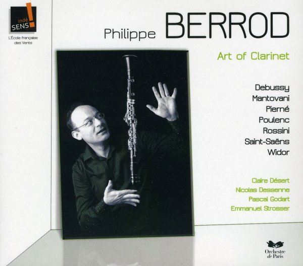 "Płyta CD Philippe Berrod ""Art of Clarinet"""
