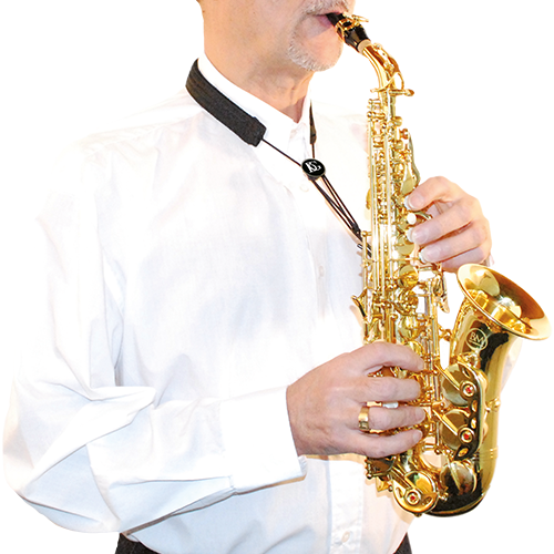 "Pasek do saksofonu sopranowego BG S85SH ""fajka"""